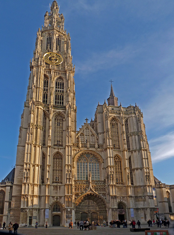 Cathedral of Our Lady in Antwerp :: the largest Gothic church in Belgium