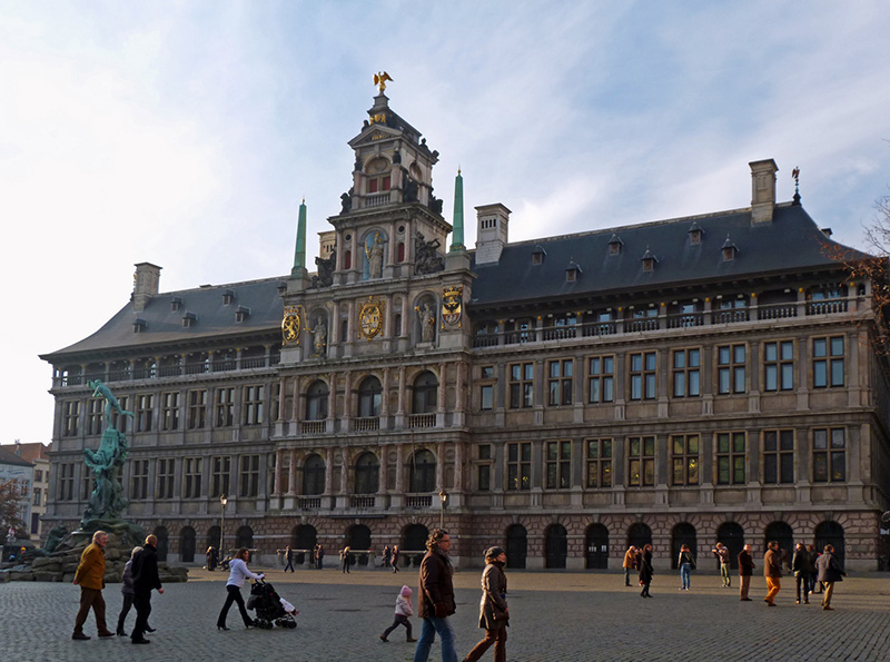 City Hall in Antwerp :: A
