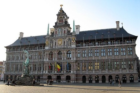 Antwerp.  Guildhall